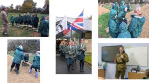 Kitebrook School service of Remembrance