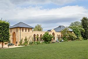 The Moorish Pavilion-Gardens at Kingham Lodge